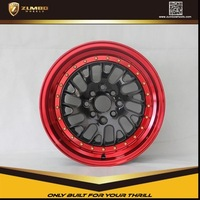 ZUMBO S0060 Gun Gray Alloy Wheel Rims