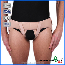 Samderson C1LU-6005 Adjustable Beige Double - sided Hernia Belts, Medical Hernia Truss, Hernia support for Healthcare
