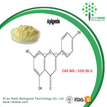 High purity Pharmaceutical grade Natural Chamomile Extract 98% Apigenin CAS NO.:520-36-5