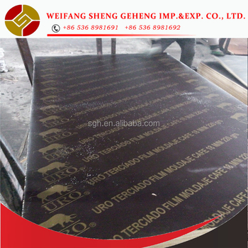 FSC Certificated Plywood Film faced plywood Phenolic board WBP glue 100% new wood veneer core from professional factory