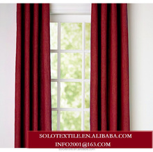 Linen Cotton Woven Blackout Window Curtain for Living room with size 145X250CM