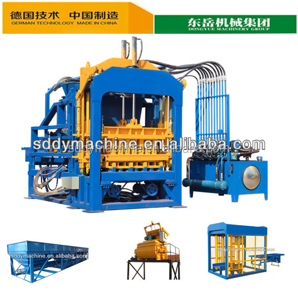 Dongyue QT4-15C Automatic volcanic ash brick making machine