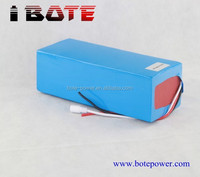 Deep cycle battery 36v 20ah lifepo4 battery ebike battery and solar system with BMS