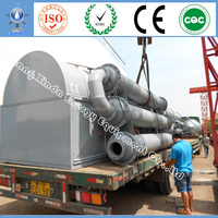 Xindae Pyrolysis Recycling Used Scrap Tyre/Plastic/Rubber Diesel Distillation Equipment for Processing Diesel
