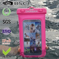 Unbreakable waterproof case for iphone with string