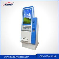 Hotel Lobby LCD Video Monitor, Digital Signage Advertising kiosk