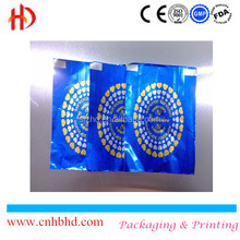 China factory aluminum foil wrapping paper hard candy wrapper printing