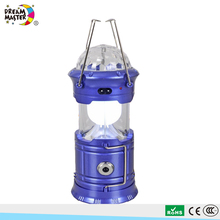 RGB Colorful LED Stage Lighting Portable Rechargeable Solar Charger LED Camping Lantern