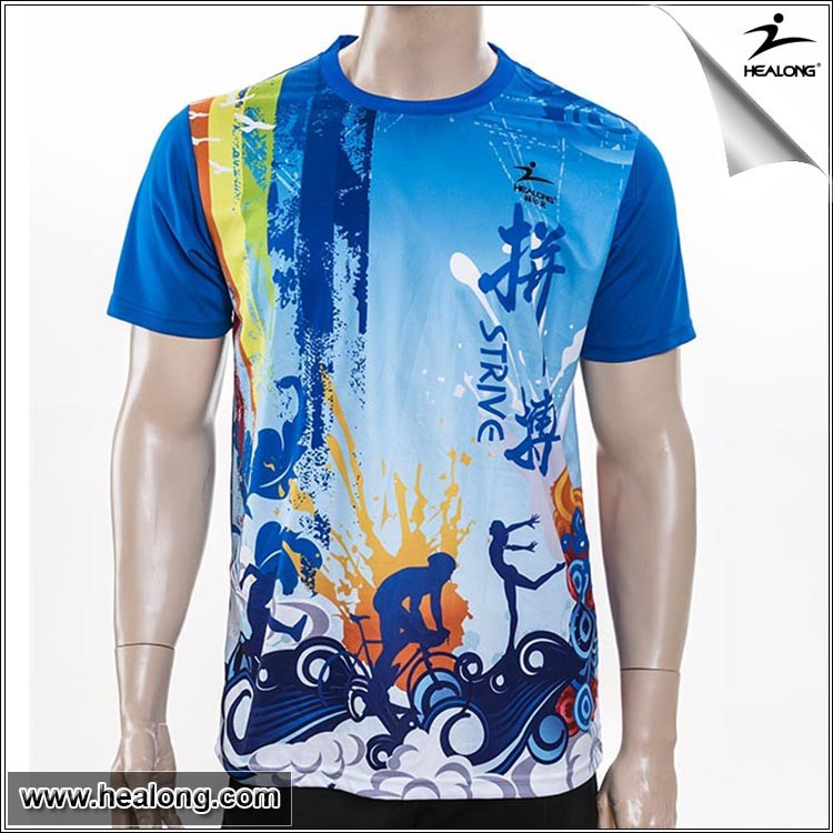 Dry Fit Colorful Printed T Shirt For Special Events