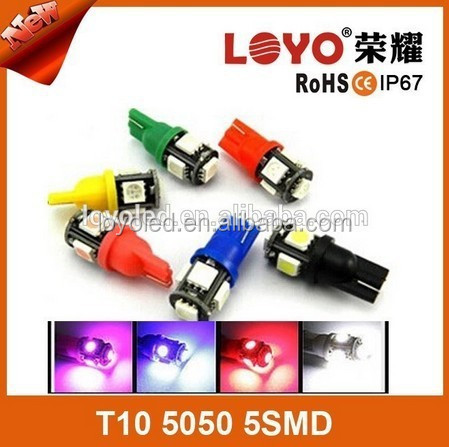 wholesale auto led lights T10 5SMD 5050,T10 car led light,led car lights 5smd