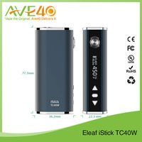 Authentic and Best electronic cigarette 2600mah 2015 Hot Selling Box Mod Eleaf Istick Tc 40/Istick Tc40 Watt/Istick Tc Wholesale