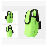 Neoprene Outdoor Running Arm Bag Zipper Armband Smart Phone Sports Pouch for Samsung Galaxy s6 edge