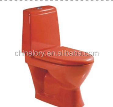 Sanitary ware ceramic red toilet/colored toilet