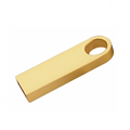 USB 3.0 high speed promotional gift custom laser engraving logo gold color 8gb metal mini usb drive