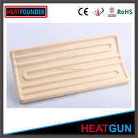 CUSTOMIZED LONG WORKING LIFE ELECTRIC CERAMIC INFRARED PANEL HEATER PARTS