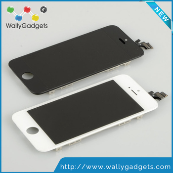 100% Test Pass High quality AAA Touch screen IPS display assembly for iphone 5