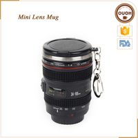 Free Shipping Small Camera Lens Mug With Key Ring