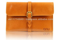 ANU W203 Bridle Leather Cases for iPad Mini [All Models] - Tan *Handmade in England, UK*