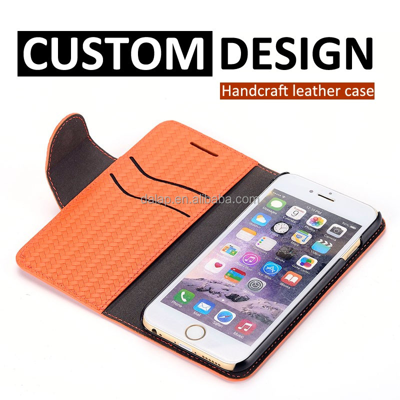mobile phone accessories factory in china genuine leather for iphone 6 case oem