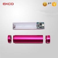 EXCO 2016 latest Thin Custom Mobile Power Bank Supply 20000mAh External Portable Battery pack 20000 mAh for Cellphone