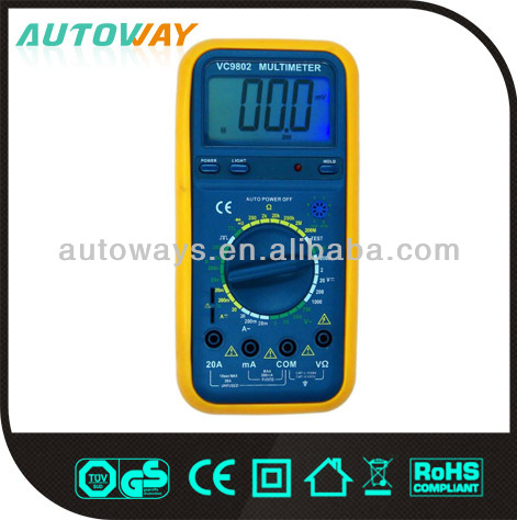 Automotive Digital Multimeter with Frequency