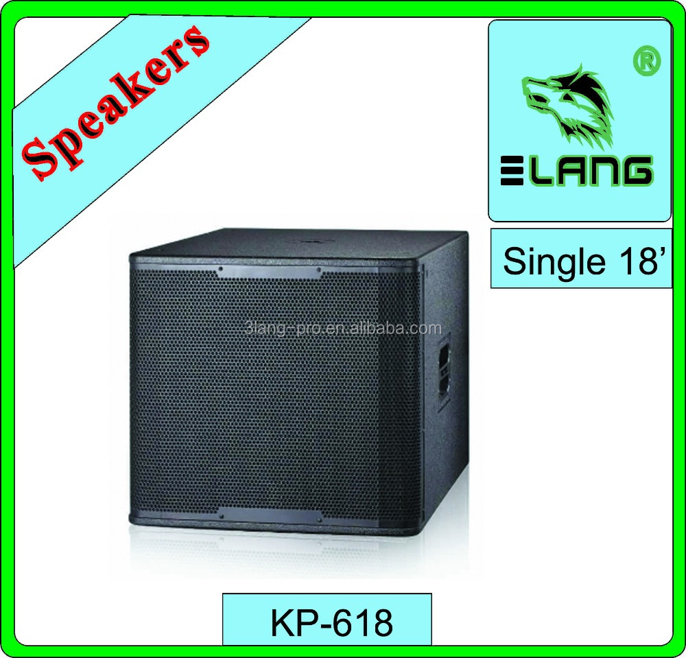 china cheapest high quality audio club bass 18 inch pa speaker