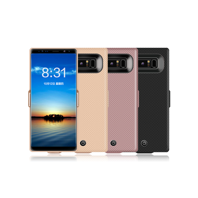 7000mahFor galaxy note 8 battery case extended rechargeable Battery Power Bank Case for Samsung Note8 with USB Output