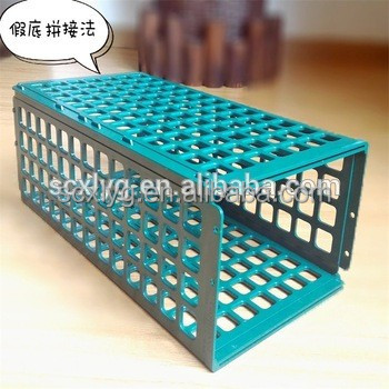 Best quality ABS display wire shelf use free joint divider and pusher system