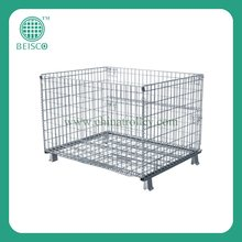 JS-WC01 Durable storage wire folding Cargo Containers