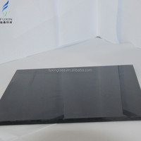 Black Ceramic Fritted Tempered Glass Factory