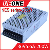 CE 110/230vAC to DC36v transformer 200w switching power supply