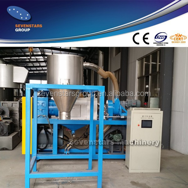 Washed PP PE film squeezing machine