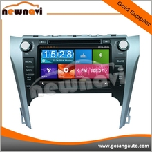 Multilanguage Bluetooth Car Radio for TOYOTA Camry 2012 with GPS TV tuner AM/FM 8 inch Touch Screen