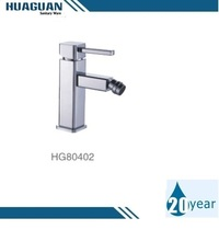 High quality single lever square bidet faucet