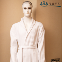 Best-selling plus size cotton waffle bathrobe for Hotels