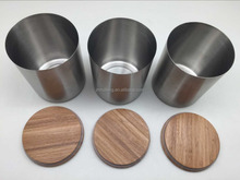 3pcs set Cansiter with bamboo lid