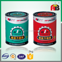 -60 degrees to +120 degrees 1:1 AB epoxy steel glue for bonding and repair