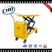 Double sccissor hydraulic motorcycle lift table