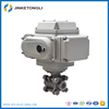 2 way 2 inch electric stainless steel ball valve 24v, automatic water shut off control valve price