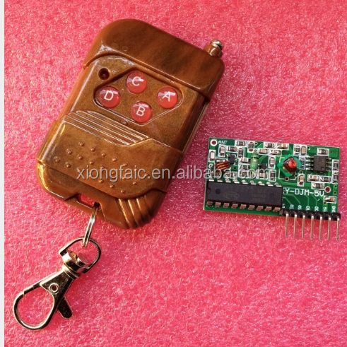 IC 2262/2272 4 CH 315Mhz Key Wireless Remote Control Kits Receiver module