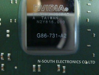 11+ G86-731-a2 Graphics Card Ic Chips