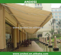 retractable caravan awning for balcony sunshade
