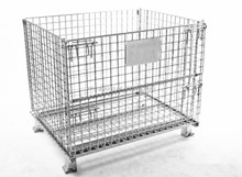 Evergreat collapsible pallet wire mesh cage and container