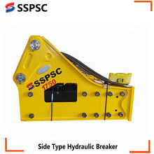 Hydraulic rock breaker chisel for 40-55t excavator in China
