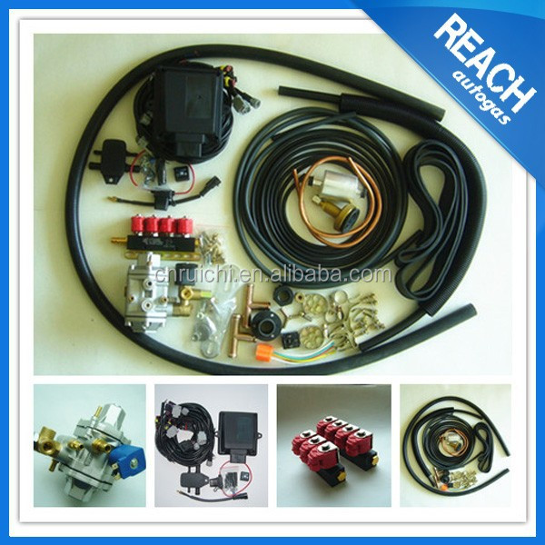 Auto engine Lpg/cng Conversion Kits For Cars Made in China Low Cost
