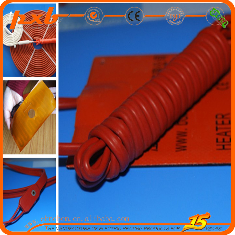 Golden Supplier Silicone Rubber Heater Electric Heater Industrial Electric Thermal Oil Boiler silicon heater mat