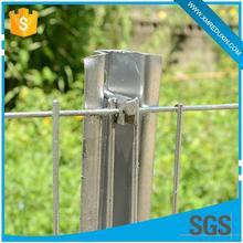 Anti-corrosive and anti-rust hot dipped galvanized temporary chain link fence
