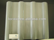 FRP curved corrugated roof panel