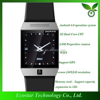 2015 cheap Bluetooth android watch Fashion Touch Screen cell phone watch