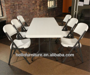 Folding Plasic Table Set /Picnic Camping /Party Garden Furniture